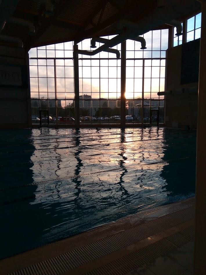 Дело для тела №6 — плавание в бассейне