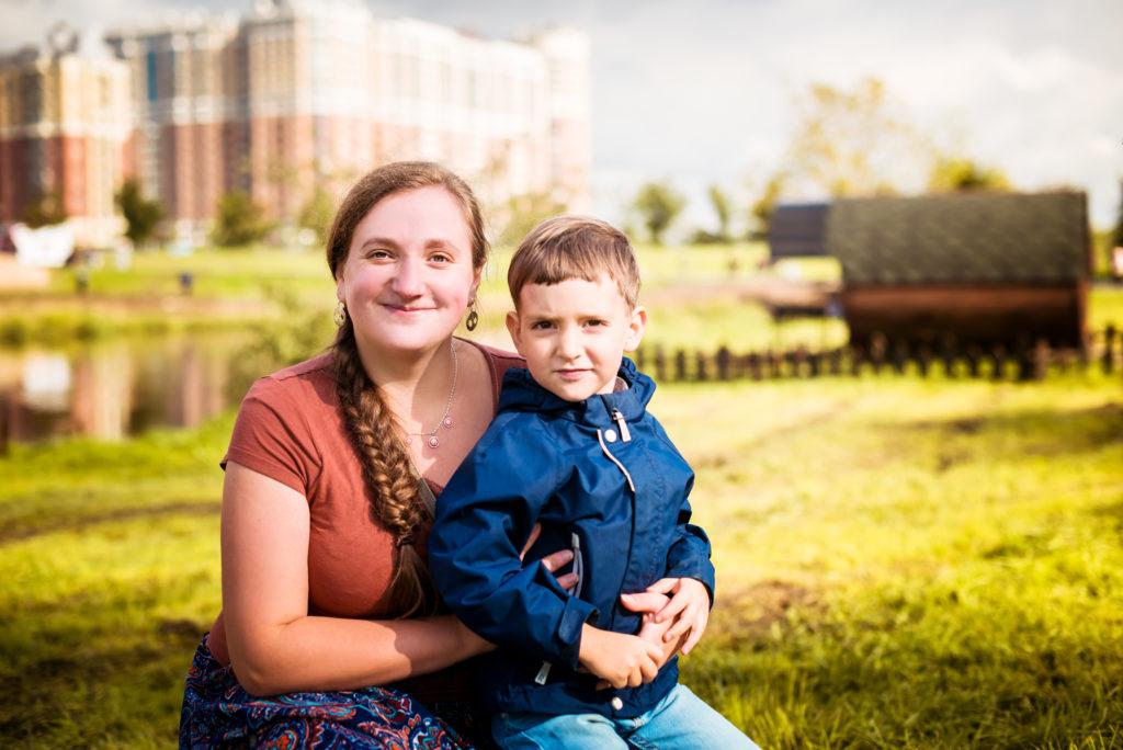 Лена Леонова с сыном 100 дел для тела