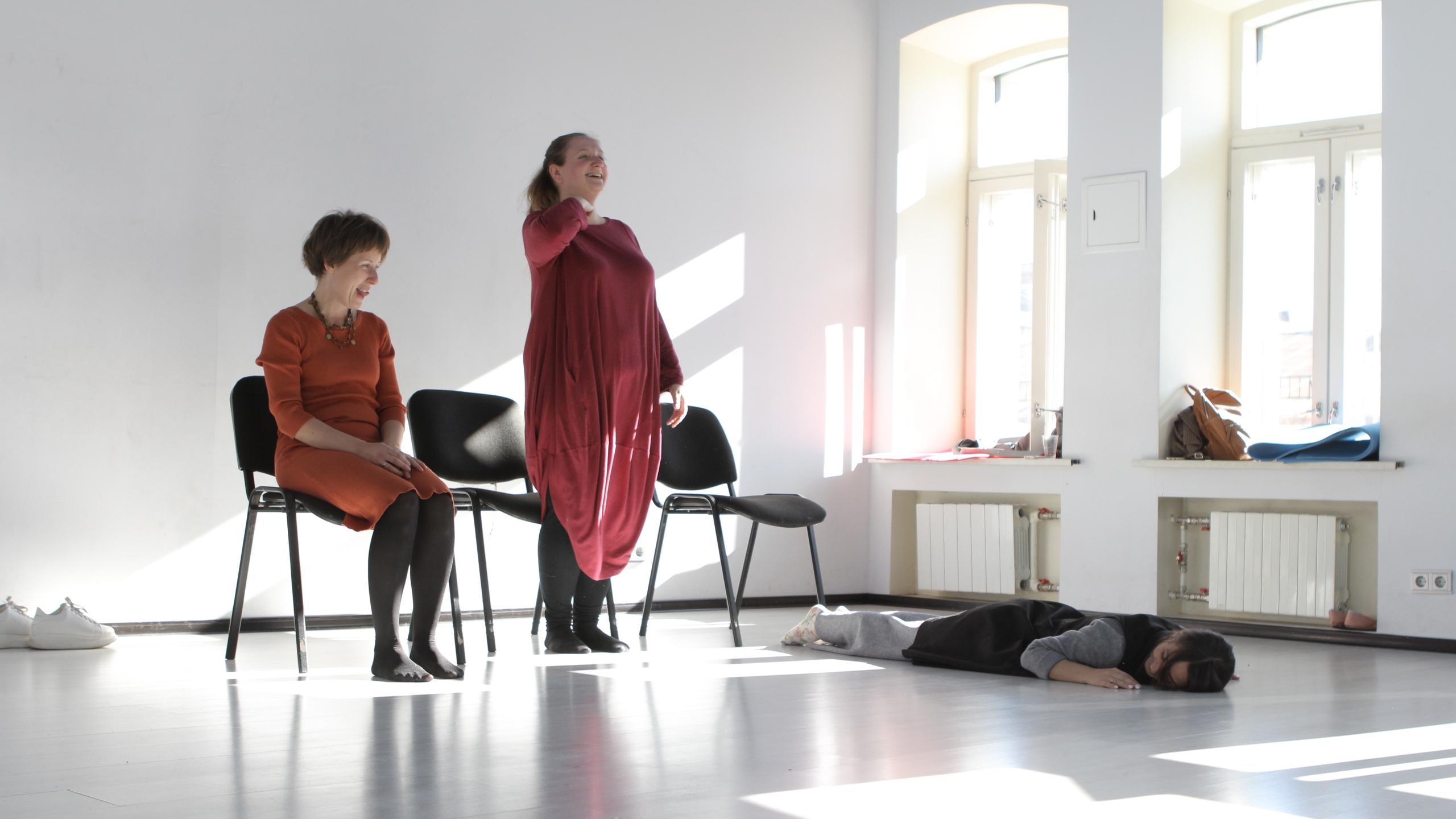 мамтеатр интенсив по работе с голосом отзыв блог Лены Леоновой актерские курсы для мам