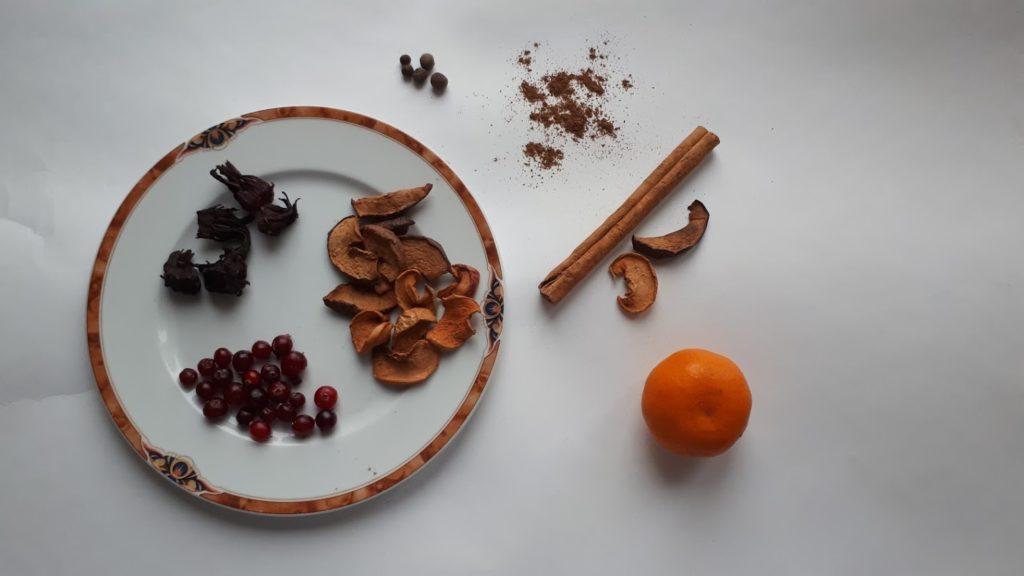 как приготовить безалкогольный глинтвейн рецепт ингредиенты
