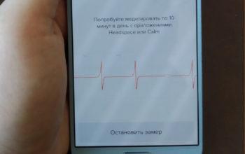 welltory замеры сердечным ритмов с помощью смартфона