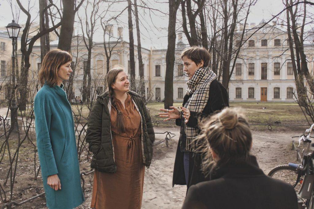 Фотография со встречи блогеров в апреле 2019